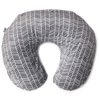 Kids N' Such Minky Nursing Pillow Cover - Best for Breastfeeding Moms - Soft Fabric Fits Snug On Infant Nursing Pillows to Aid Mothers While Breast Feeding - Nursing Pillow Slipcover - Herringbone