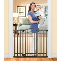 "Home Safe Extra Tall Walk Through Decorative Baby Gate, 28""-48"""