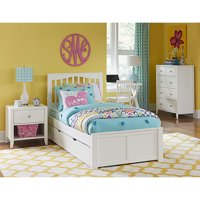 Hillsdale Furniture Pulse Mission Bed with Trundle, Multiple Sizes and Colors