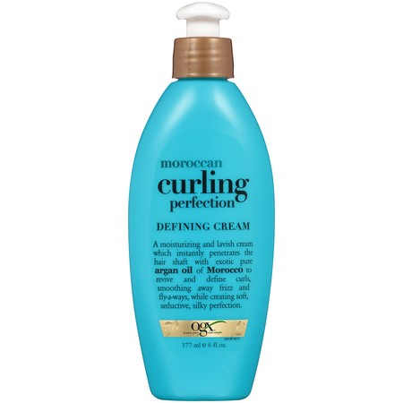 OGX Moroccan Curling Perfection Defining Cream, 6 (Best Hair Cream For Waves)