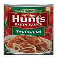 (3 pack) Hunt's Traditional Pasta Sauce, 24 Oz.