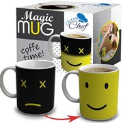 Tea Unique Heat Changing Sensitive Cup 12 Oz Yellow Happy Face Design Drinkware Ceramic Mugs Cute Birthday Christmas Gift Idea For Mom Dad Women Men