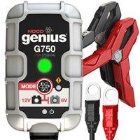 NOCO Genius G750 6V/12V .75 Amp UltraSafe Smart Battery Charger