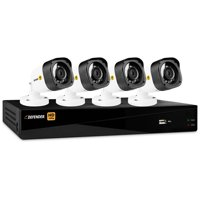 Defender HD 1080p 4-Channel 1TB DVR Security System with 4 Bullet Cameras