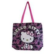 61f2b4ddd0 Tote Bag - Hello Kitty - Black Face Pattern New Gifts Girls Hand Purse 81414