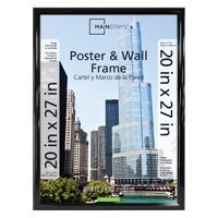 """Mainstays 20x27"""" Black Trendsetter Poster and Picture Frame"""