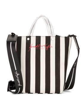 Kendall + Kylie for Walmart Black Lucite Mini Tote Crossbody