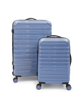 iFLY Hard Sided Fibertech Luggage, 2 Piece Set