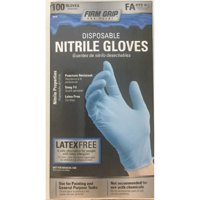 Firm Grip Nitrile Glove, 100-Count