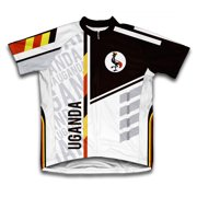 ccb94ce0a0ca4 Uganda ScudoPro Short Sleeve Cycling Jersey for Men - Size XS