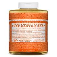 Dr. Bronner's Tea Tree Pure-Castile Liquid Soap - 16 oz