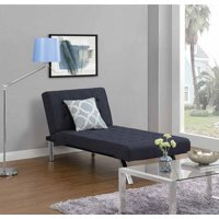 DHP Emily Futon Modern Chaise Lounger, Multiple Colors