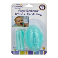 Summer Finger Toothbrush Birth & Up, 1.0 CT