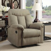 ProLounger Wall Hugger Microfiber Montero Back Recliner Chair, Multiple Colors