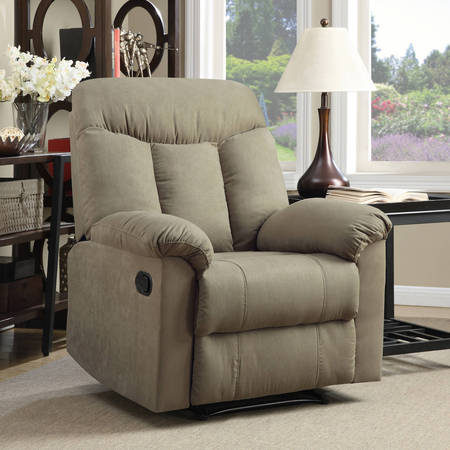 Pride Lift Chairs Recliners (ProLounger Wall Hugger Microfiber Montero Back Recliner Chair, Multiple Colors)