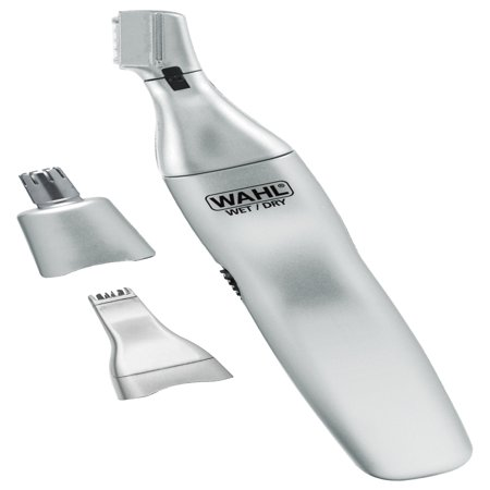 Wahl Clipper - Ear, Nose & Brow 3-in-1 Personal Trimmer. Wet/Dry for Fast, Easy, Precise and Hygienic Grooming! Model (Best Clippers For Shearing Angora Goats)