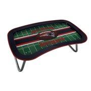 Nfl New England Patriots Multi Function Metal Lap Tray W Folding Legs 22 Inch