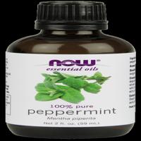 NOW Pure Essential Oils, Peppermint, 2 Oz