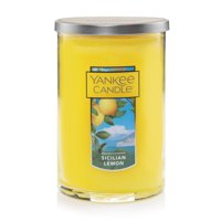 Yankee Candle Large 2-Wick Tumbler Scented Candle, Sicilian Lemon