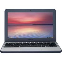 "Asus Chromebook C202SA-YS02 11.6"" Chromebook, Intel Celeron N3060 Dual-core, 4GB RAM, 16GB Flash Memory"