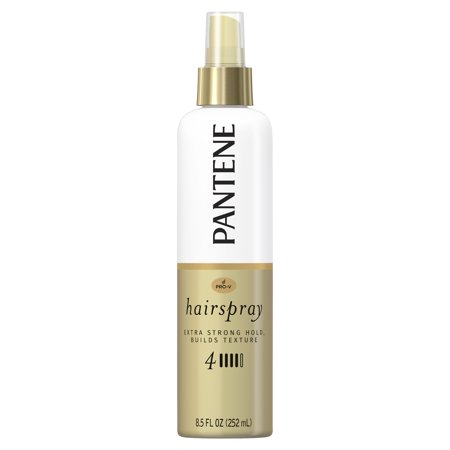 Pantene Pro-V Level 4 Extra Strong Hold Texture-Building Non-Aerosol Hairspray, 8.5 fl oz - Gold Hair Color Spray
