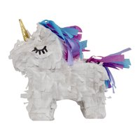 "Extra Mini Unicorn Party Pinata, 8"" Pinata, Traditionally Handcrafted"