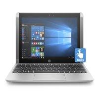 "Refurbished HP 10-p018wm Detachable Laptop 10.1"" Intel Atom x5-Z8350CPU 4GB 64GB eMMC,Win10"