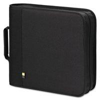 Case Logic CD/DVD Expandable Binder, Holds 208 Discs, Black