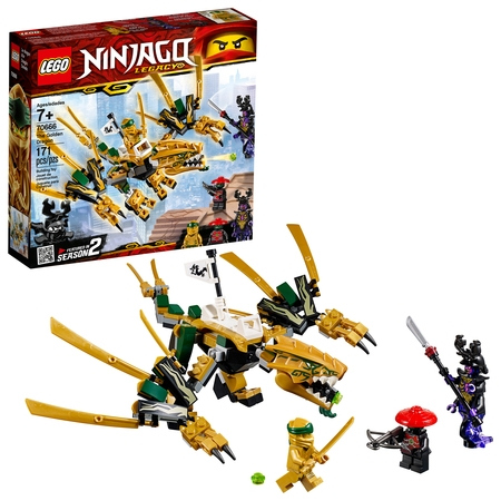 LEGO Ninjago The Golden Dragon Building Set 70666 (171 Pieces)](Kai Lego Ninjago)