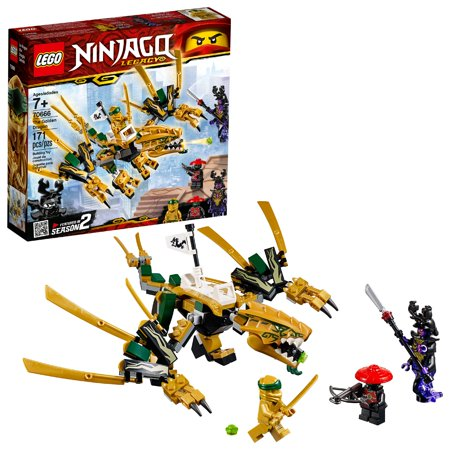 LEGO Ninjago The Golden Dragon Building Set 70666 (171 Pieces) - Blue Lego Ninjago