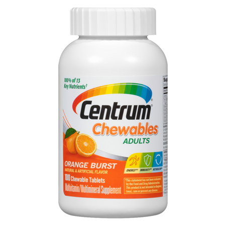 chewable multivitamin for adults