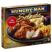 Hungry-Man® Selects Classic Fried Chicken Frozen Dinner 16 oz. Box