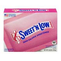 (2 Pack) Sweet'N Low Zero Calorie Sweetener, 250 count, 8.8 oz