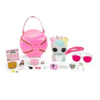 L.O.L. Surprise! Biggie Pets- Hop Hop Mini Backpack & Accessories