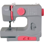 Best Basic Sewing Machines - Janome Graceful Gray Basic, Easy-to-Use, 10-Stitch Portable, Compact Review