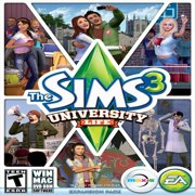 Electronic Arts Sims 3: University Life, EA, PC Software, 014633198089