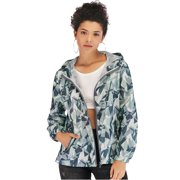 1df49b0263704 LELINTA Womens Fashion Camouflage Windbreaker Jacket Zipper-Up Long Sleeve  Hoodie Jackets Outdoor Lightweight Sport