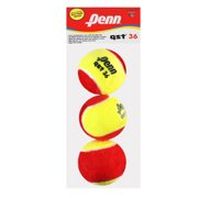 Penn QST 36 Red and Yellow Felt 3-ball in Polybag