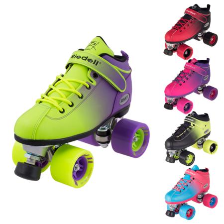 Riedell Jam Skates (Riedell Quad Roller Skates - Dart Ombre- Fade)