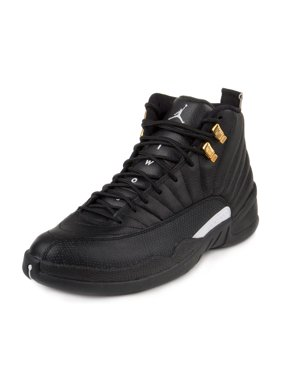 Nike Mens Air Jordan 12 Retro Black/White-Metallic Gold 130690-013