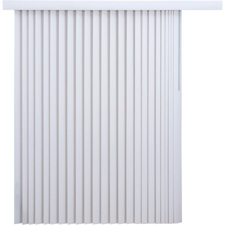 Mainstays Light Filtering Vertical Blinds 78 X 84 White Walmartcom