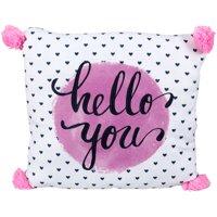 Better Homes & Gardens® Kids Hello You with Pom Pom Pillow
