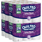 Quilted Northern Ultra Plush, 48 Double Rolls, Toilet Paper