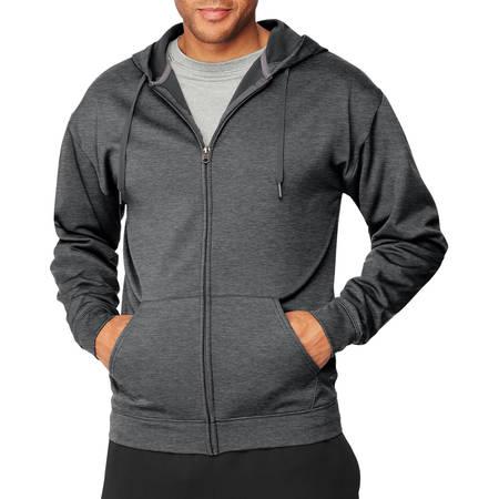 - Sport Men's Performance Fleece Full-Zip Hoodie