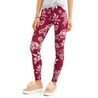 Juniors' Sueded Jersey Ankle Leggings (Prints & Solids)