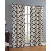 Mainstays Canvas Ironwork Curtain Panel