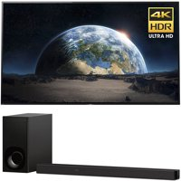 Sony 77-Inch 4K Ultra HD Smart BRAVIA OLED TV 2017 Model (XBR77A1E) with Sony 3.1ch Soundbar with Dolby Atmos