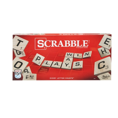 Classic Scrabble Crossword Board Game for Ages 8 and up ()