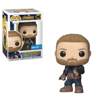 Funko POP! Marvel: Avengers Infinity War - Captain America Walmart Exclusive