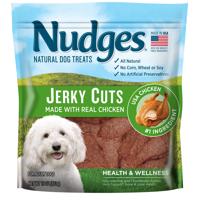 Nudges Health and Wellness Chicken Jerky Dog Treats, 16 oz.